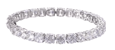 Amazon Curated Collection Sterling Silver Tennis Bracelet