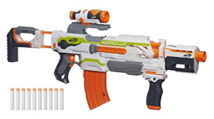 Nerf N-Strike Modulus ECS-10 Blaster, Birthday and Christmas Gifts for 8-Year-Old Boys