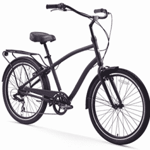 sixthreezero EVRYjourney Men's 26-Inch 7-Speed Hybrid Cruiser Bicycle