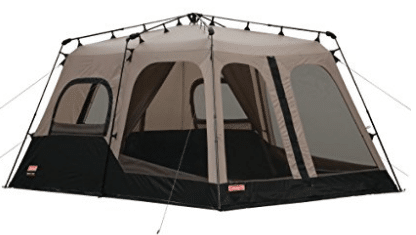 Coleman 2000018295 8-People Instant Tent Coleman Pop Up C&ing TentBlack (14×10 Feet)  sc 1 st  5productreviews & Top 12 Best Pop Up Tents in 2018 - Review u0026 Buyeru0027s Guide (March ...