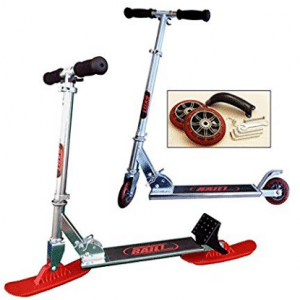 RAILZ Youth Street & Snow Scooter, more fun than sleds and snow toys - Snow Scooters