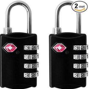 TSA Luggage Locks (2 Pack)