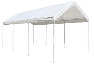 ALEKO CP1020NS 10 X 20 Heavy Duty Steel Frame Carport