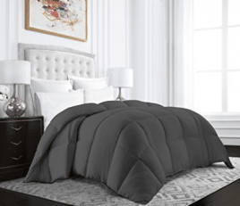 Beckham Hotel Collection Egyptian Quality Cotton Goose Down Alternative Comforter