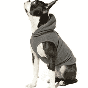 Dog Sweaters, Gooby Every Day Fleece Cold Weather Dog Vest with Hoodie for Small Dogs