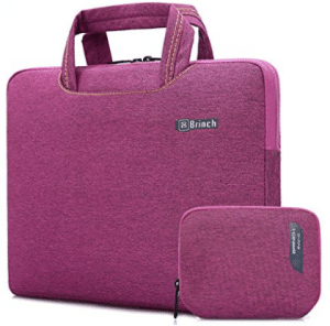 Brinch 15, 15.6-Inch Waterproof Laptop Case Bag with Handle for Apple Macbook