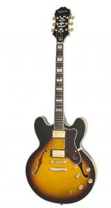 Epiphone SHERATON-II PRO Thin-line, Semi-Hollowbody Electric Guitar with Coil Tapping