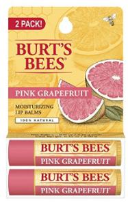 Burt's Bees Pink Grapefruit, Moisturizing Lip Balm
