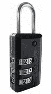 Master Lock Padlock, Set Your Own Combination Luggage Lock