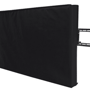 "Outdoor TV Covers, SONGMICS Outdoor TV Cover for 40""- 43""Waterproof TV Protector Compatible with Wall Mounts and Stands Black UGTR42B"