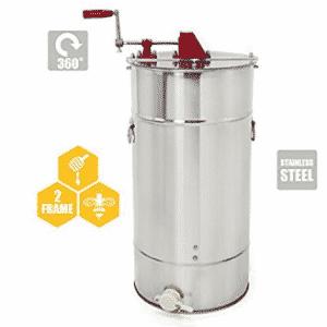 2-Frame Stainless Steel Honey Extractor