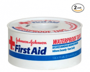 Johnson & Johnson First Aid Waterproof Tape