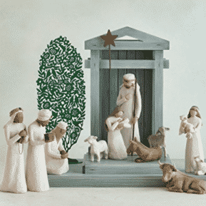 Demdaco Willow Tree 8.5-inches The Three Wisemen for the Nativity