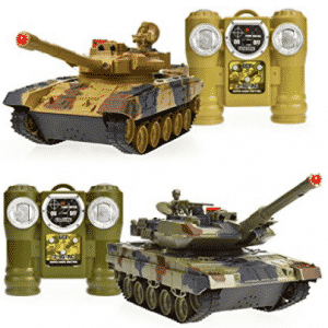 Dynasty Toys Laser Tag Tanks - LED Battling Tanks Toys - RC Tanks
