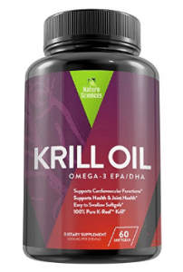 Antarctic Krill Oil Omega 3 Supplement By Naturo Sciences