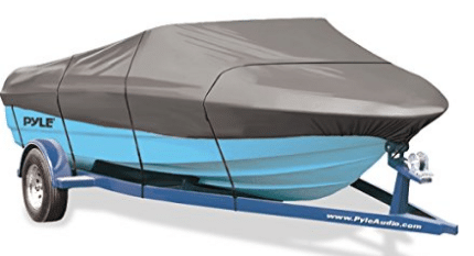 Pyle Armor Shield Boat Cover, Waterproof Marine Grade
