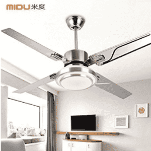 Leihongthebox Wind ceiling fan iron leaf restaurant electric fans