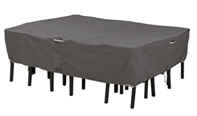 Classic Accessories Ravenna Rectangular/Oval Patio Table & Chair Set Cover
