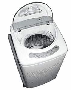 Haier HLP21N Pulsator 1-Cubic-Foot Portable Washer, Mini Washing Machines