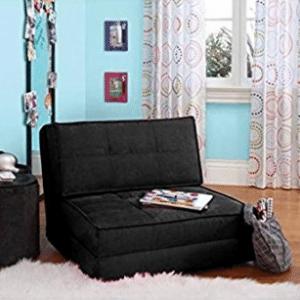 your zone - flip chair (1, Rich Black