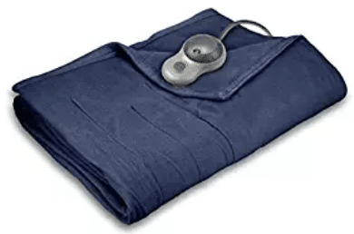 Sunbeam Quilted Fleece Heated Blanket with EasySet Pro Controller, Gifts for Grandma