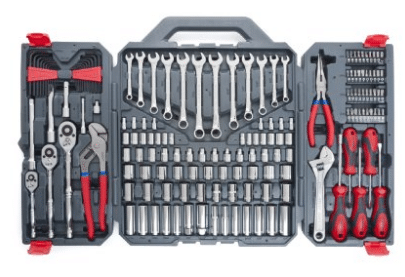 Crescent CTK170CMP2 Mechanics Tool Set, 170-Piece - Gifts for Grandpa