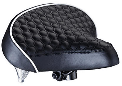 Schwinn Quilted Wide Cruiser Saddle, Comfortable Bike Seats