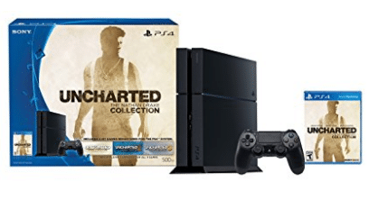 PlayStation 4 500GB Console - Uncharted: The Nathan Drake Collection Bundle, Gifts Your Teenage Boy