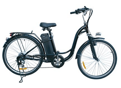 "Watseka XP Sport-Electric Bicycle-26""-6 speed-Adult/Young Adult-Black - Gifts for Grandma"