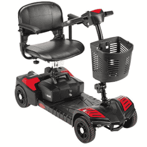 Drive Medical Scout Compact Travel Power Scooter, Gifts for Grandpa