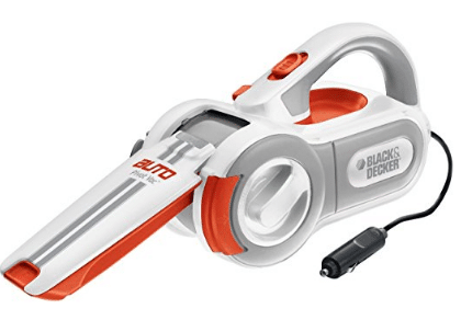 BLACK+DECKER PAV1200W 12-Volt Cyclonic-Action Automotive Pivoting-Nose Handheld Vacuum Cleaner, Xmas Presents for Boyfriends