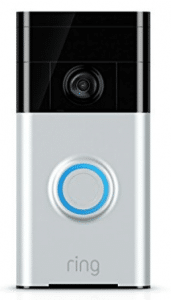Ring Wi-Fi Enabled Video Doorbell in Satin Nickel - Gifts for Grandma