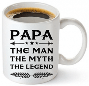 Muggies Papa Mug - Gift For Dad And Grandpa! Coffee Tea 11oz Cup - Gifts for Grandpa
