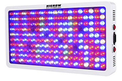 HIGROW Optical Lens-Series 1000W Full Spectrum LED Grow Light for Indoor Plants Veg and Flower