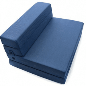 Milliard Tri-Fold Foam Folding Mattress and Sofa Bed for Guests or Floor Ma