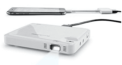 Brookstone Pocket Projector Micro - Gifts Your Teenage Boy