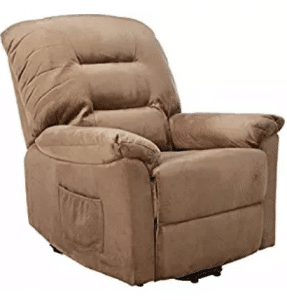 Coaster Home Furnishings Modern Transitional Power Lift Wall Hugger Recliner Chair with Emergency Backup, Gifts for Grandma