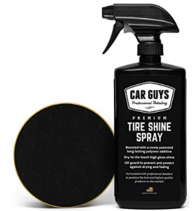 Tire Shine Spray - Best Tire Dressing Car Care Kit for Car Tires after a Car Wash
