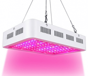 LVJING 1000W LED Plants Grow Light Full Spectrum Double Chips Growing Lamps with UV