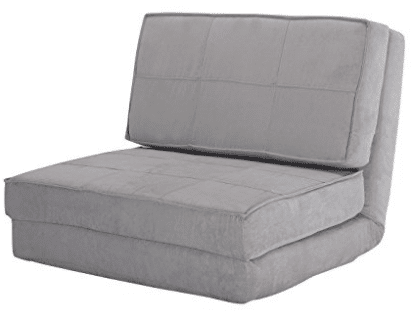 Giantex Fold Down Chair Flip Out Lounger Convertible Sleeper Bed Couch Game Dorm Guest