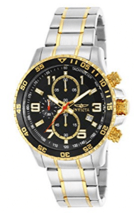 Invicta Men's 14876 Specialty Chronograph 18k Gold - Gifts for Grandpa