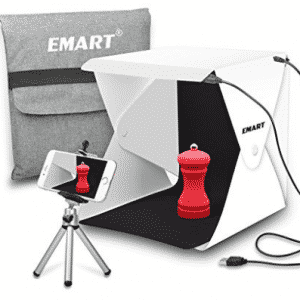 Emart Upgraded 40 LED Foldable & Portable Photo Lighting Studio Shooting Tent Box Kit