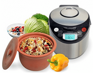VitaClay VM7900-8 Smart Organic Multi-Cooker- A Rice Cooker