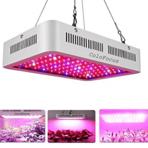 ColoFocus 600W LED Indoor Plants Grow Light Kit, Full Spectrum with UV&IR for Indoor Greenhouse Plants Veg and Flower