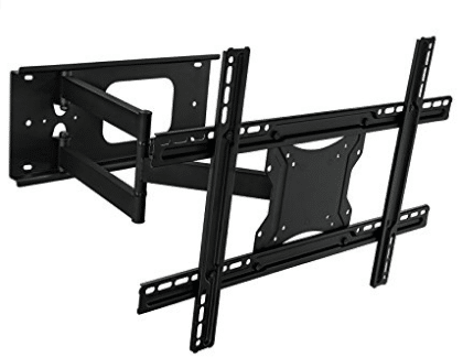 "Mount-It! Articulating, Full Motion TV Wall Mount Bracket for 32""-65 inch Flat Screen TVs, Corner TV Wall Mounts"
