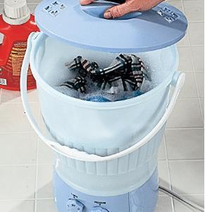 As Seen On TV 295116 Wonder Washer, 13x18.25-Inch, Mini Washing Machines
