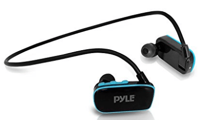 Pyle Waterproof Mp3 Player for Swimming Sports, 4 GB Memory
