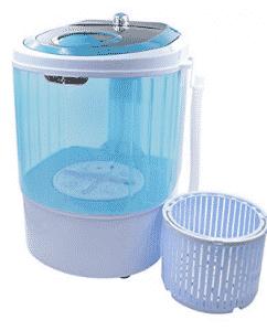 Panda 5.5 lbs Counter Top Washing machine with Spin basket, Mini Washing Machines