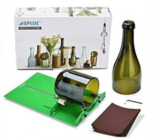 AGPtek Long Glass Bottle Cutter Machine Cutting Tool For Wine Bottles