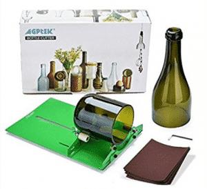AGPtek Long Glass Bottle Cutter Machine Cutting Tool For Wine Bottles